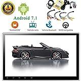 EINCAR 10,1 Zoll im Schlag Android 7.1 Nougat Quad Core 2G RAM 16G ROM Mirrorlink kapazitiver Multi-Touch-Screen-Auto-Stereo GPS-Navigations-DVD-Player eingebauten Mikrofon Bluetooth FM/AM Radio W