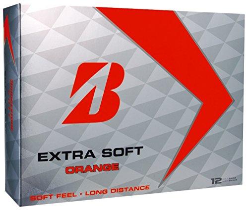 Bridgestone Extra Soft Golfbälle - Modell 2017 (Bridgestone Golfbälle Orange)