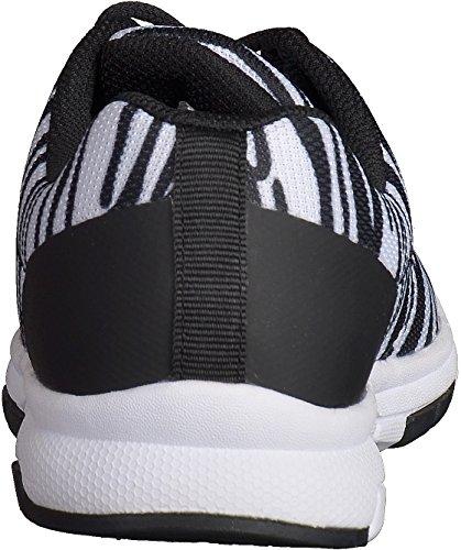 Boras 3190 hommes Baskets Noir/Blanc