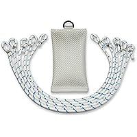 FBS Fahnengewicht Beschwerungssäckchen 700 Gramm für Fahnen   Fahnenmast mit 5 Fahnenschlingen (Set)