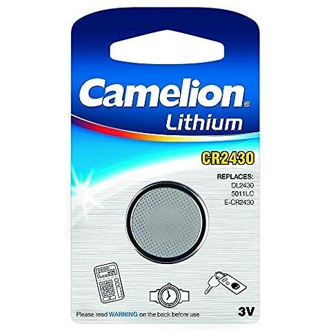 Camelion 3V CR2430 Lithium Button Cell