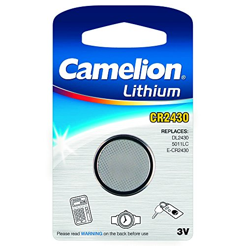 3V, CR 2430 1er Blister Camelion (DL2430 / 5011LC/ E-CR2430 ()