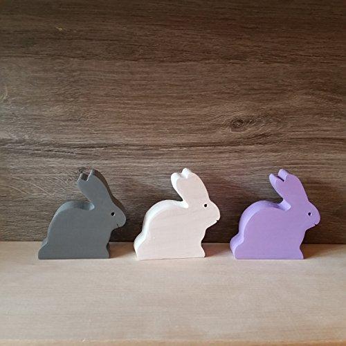lapins-en-bois-lot-de-3-entierement-fabrique-a-la-main-en-france