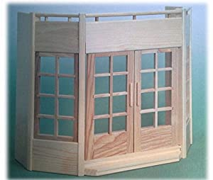 Rülke Holzspielzeug 23126 - Panel de Invernadero para casa de muñecas