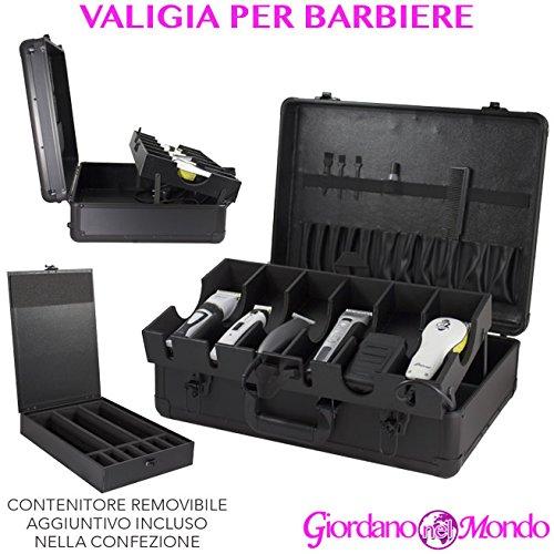 Valise Porte Outils avec compartiments pour Barbieri professionnelle pour tondeuse clippers