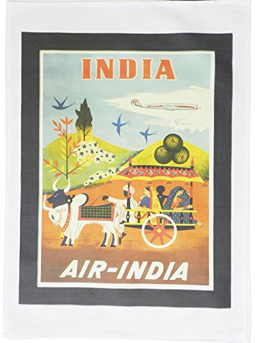air-india-retro-style-travel-poster-large-cotton-tea-towel-by-half-a-donkey