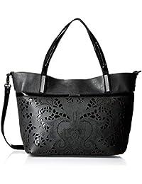 Gussaci Italy Women's Handbag (Black) (GUS148)
