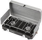 Outwell Gourmet-Cooker 2-flammig mit Deckel und Windschutz