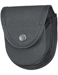 Gould & Goodrich X596 Double Handcuff Case Place On Belt Up To 2-1/4-Inch (Black Ballistic Nylon) by Gould & Goodrich