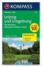 Leipzig und Umgebung - Nordsachsen - Naturpark Dübener Heide: Wanderkarten-Set mit Aktiv Guide in der Schutzhülle. GPS-genau. 1:50000 (KOMPASS-Wanderkarten) hier kaufen