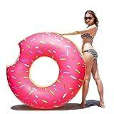 Samione Donut anillo de natación inflable, Flotador Gigante Buñuelo...