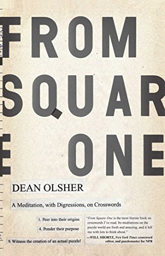 From Square One: A Meditation, with Digressions, on Crosswords (English Edition) PDF Books