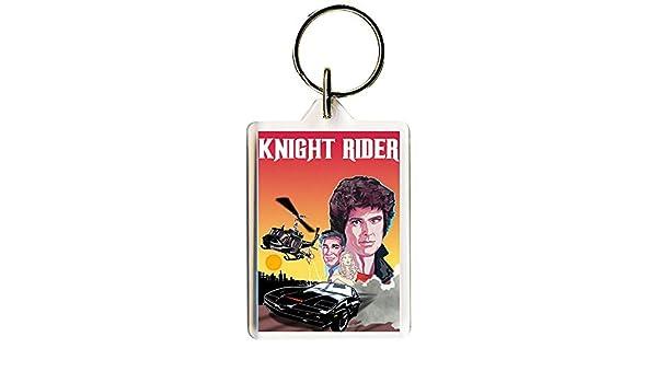 S8keMedia Knight Rider #1 Keyring 50mm x 35mm