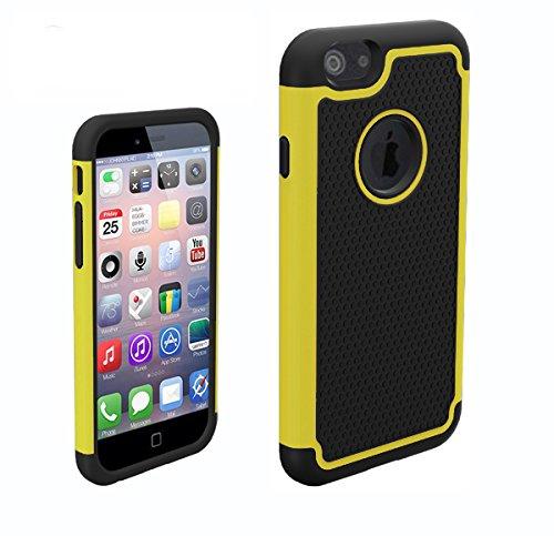 Monkey cases ® iPhone 6-football'en tPU pour iPhone 6-jaune-coque de pROTECTION-produit neuf sous emballage d'origine-jaune
