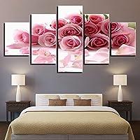 camera da letto in marmo con poster e studio — foto stock