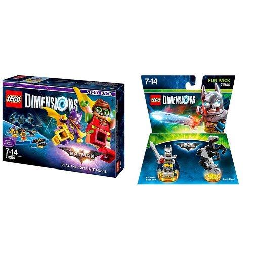 LEGO Dimensions - Story Pack Lego Batman Movie & LEGO Dimensions - Fun Pack Lego Batman Movie - 3 Xbox Batman 360-lego