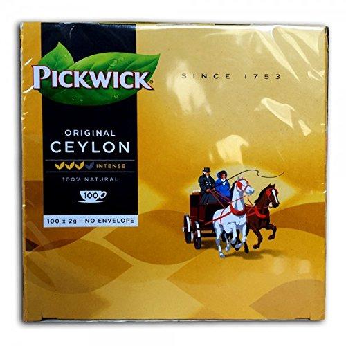 Pickwick Teebeutel Ceylon 100 Beutel á 2g unverpackte Teebeutel Vorteilspackung