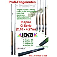 Jenzi Profi Fliegenruten INSPIRE G-Serie (2,10m - 4,27m)