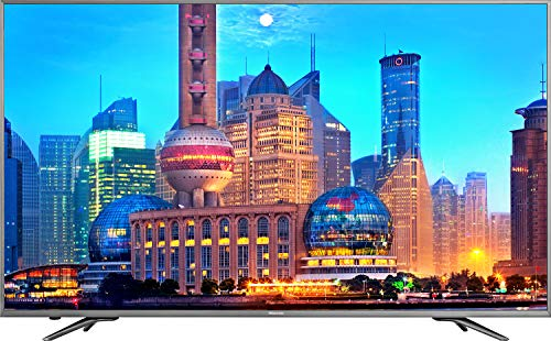 "Hisense N6800 55"" 4K Ultra HD Smart TV Wi-Fi Nero, Grigio"