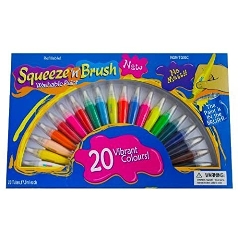 Squeeze 'n' Brush Washable Paints by Other