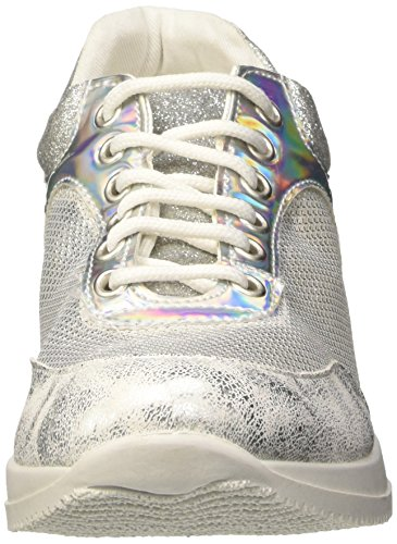 North Star 5491232, Scarpe Low-Top Donna Argento