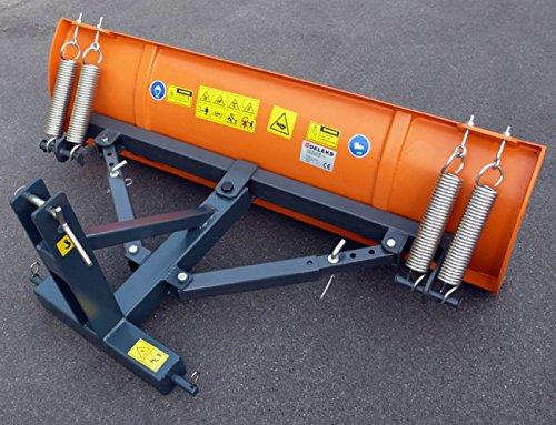 Schneeschild mit Dreipunktbock und Seitenverstellung -LNS-130-C