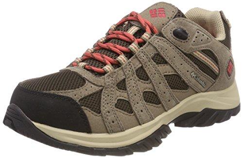 Columbia Canyon Point Waterproof, Zapatillas de Senderismo, Impermeable para Mujer, Marrón Cordovan...