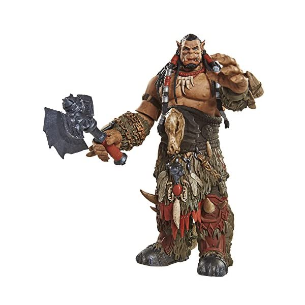 Warcraft 6 Durotan Action Figure With Accessory by Warcraft 2