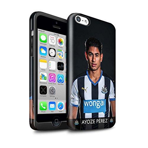 Offiziell Newcastle United FC Hülle / Glanz Harten Stoßfest Case für Apple iPhone 5C / Pack 25pcs Muster / NUFC Fussballspieler 15/16 Kollektion Ayoze