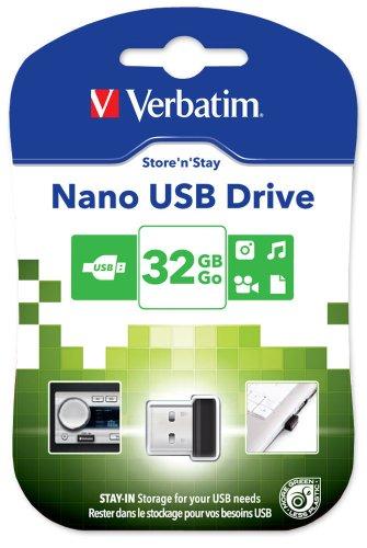 Verbatim Store N Estadía Nano 32 Gb Memory Stick Usb 2.0 Negro