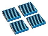 InLine 33955H RAM-Kühler selbstklebende Kühlrippen 4 Stück