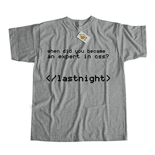 CSS T-shirt Software Developer Shirt HTML Tag Tee Tops Programmers Shirt Geek Tshirt Nerd Tshirt Weiß