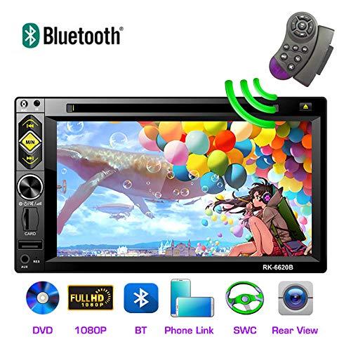 SSCJ Doppelte DIN-Autoradio-Navigation mit Touchscreen des FHD 1080P-Autoradios MP5 Bluetooth GPS-Unterstützung USB/TF/FM/RDS-Radio/Rückfahrkamera