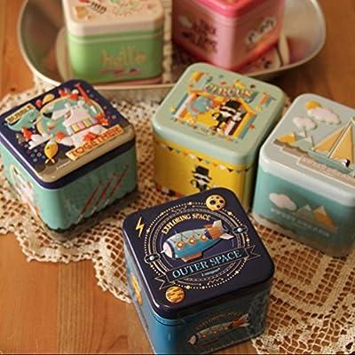 2PCS Mini quadratische Dose Lagerung Zubehör Süßigkeiten / Schokolade Halter, A von Blancho Bedding auf Du und dein Garten