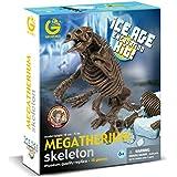 Geoworld Ice Age Excavation Kit 23211350 Megatherium - Kit de excavación de esqueletos de dinosaurio (18 cm) [importado de Alemania]