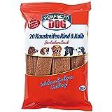 Hundefutter Kaustreifen Snack 1x20 Stück Rind&Kalb Made in Germany
