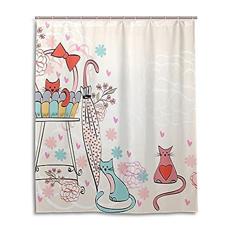 Zoeo de bain Rideau de douche 152,4x 182,9cm vintage Art 12Constellation Horoscope Cancer imperméable à l'eau Tissu de polyester Rideau de salle de bain