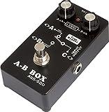 Belcat ABS-520 Pédale d\'ampli A/B  pour Guitare Noir