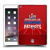 Head Case Designs Offizielle NFL New England Patriots 3 2019 Super Bowl LIII Champions Soft Gel Hülle für iPad Air 2 (2014)