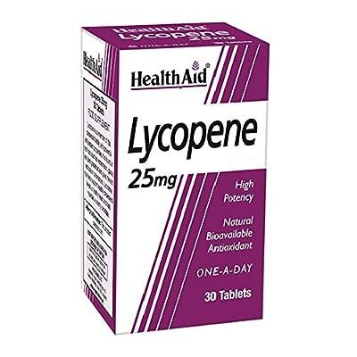HealthAid Lycopene 25mg - Antioxidant - 30 Tablets from HealthAid