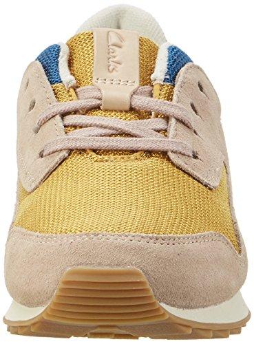 Clarks  Floura Mix, Sneakers Basses femme Multicolore (Multicolour)