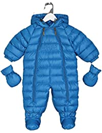 "Emaé - All in One Snowsuit - Baby-Boys - Collection ""Outerwear"" - Blue (6-9 Months - 74 cm)"