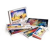 Mungyo MPS24 Set de 12 Crayons secs carrés Assortis