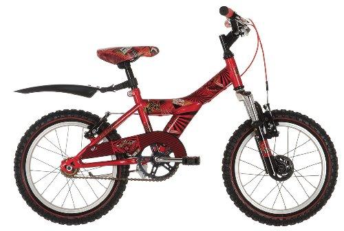 "16 ZOLL KINDER FAHRRAD BMX KINDERFAHRRAD 16"" RAD Kinderrad Raleigh Atom ROT"