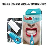 Nano Teeth Whitening Kit Werkzeuge Zahnreinigung Aufheller Pinsel Zahnflecken Gel Streifen Rauch Zähne Tools Kit,A