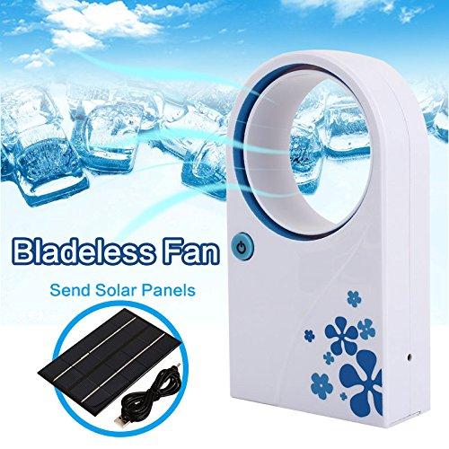 Preisvergleich Produktbild Sedeta Auto-Klimaanlage Blattlose Fans Tragbare Mini-Solar-Auto-Fans kühlere Sommerausrüstung Fahrzeugkühlung beibehalten Fahrzeugkühlung beibehalten