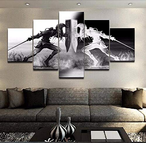 XLST Wall Art Vikings Pictures Home Decor 5 Unidades