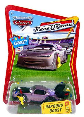 Race Cars Spielzeug (Disney Pixar - CARS - THE WORLD OF CARS - Die-Cast - RACE O RAMA - CHASE! Impound Boost)