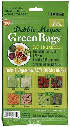 Debbie Meyer Green (Debbie Meyer Green Bags Beutel 10 Stück)