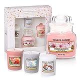 Yankee Candle coffret cadeau | Petite jarre et 3bougies votives